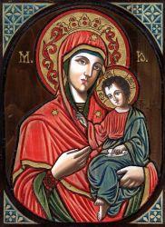 peinture sur bois (orthodoxe)