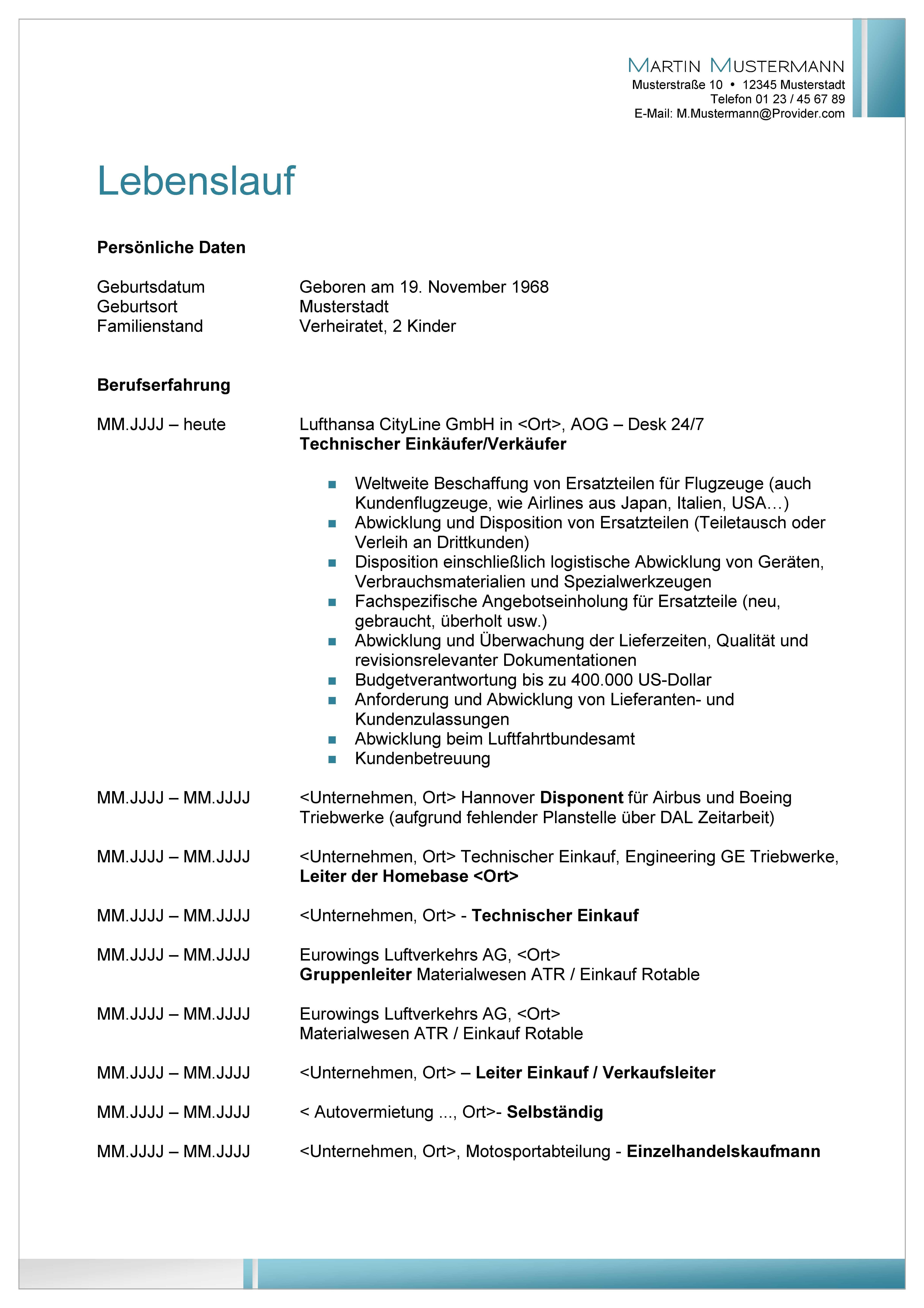 Beste Arzt Lebenslauf Format Bilder - Entry Level Resume Vorlagen ...