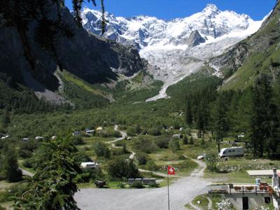 camping Glaciers