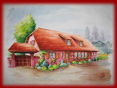 Chambre d 39 hotes papy michel 68190 ungersheim alsace for Piscine ungersheim