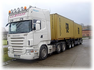 Container Trucking - Containertransporte