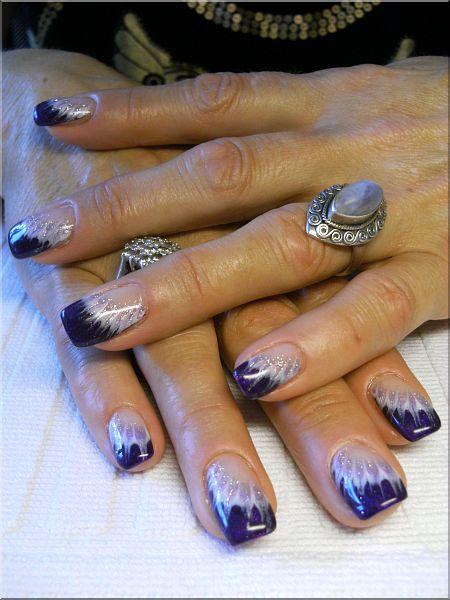 nailart lila french verzieht dream nails design in rheinfelden degerfelden. Black Bedroom Furniture Sets. Home Design Ideas