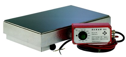 CERAN hotplate 22SR with separate regulator