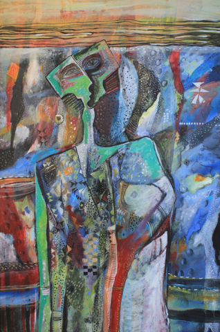 Walking the Blues 80 x 120 cm 2011