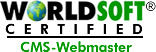 WORLDSOFT Certified CMS-Webmaster