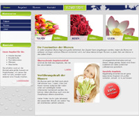 Website Blumenladen