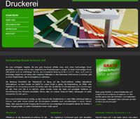 Website Druckerei
