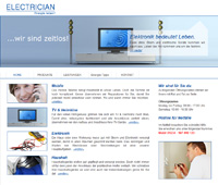 Website Elektroinstallation