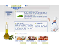 Website Griechisches Restaurant