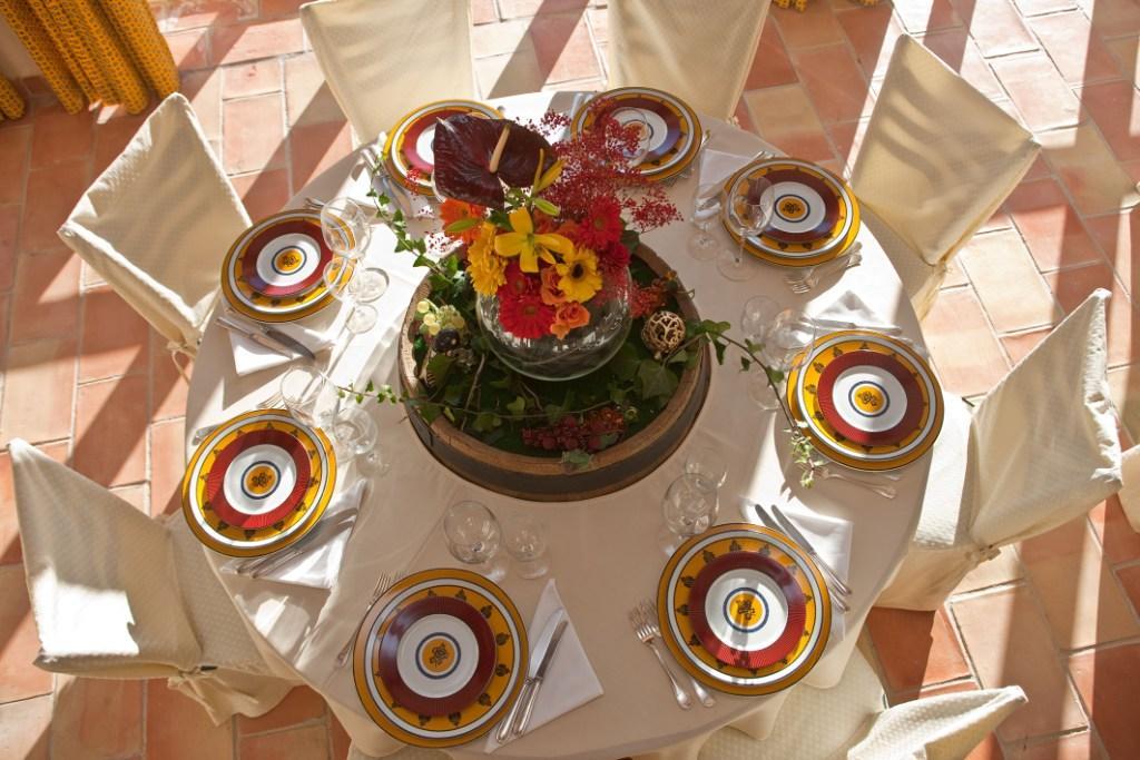 table style provence salle de rception cabasse - Domaine Viticole Mariage Var