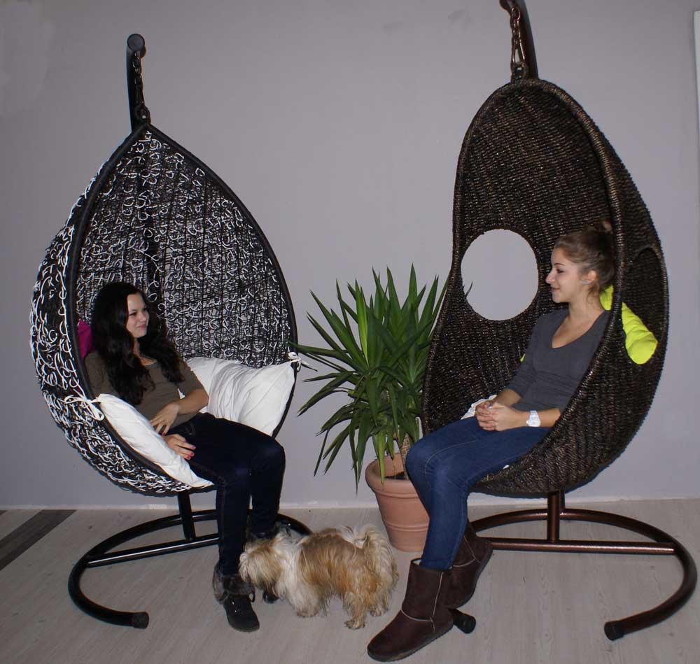 lounge garten m bel h ngesessel von anro. Black Bedroom Furniture Sets. Home Design Ideas
