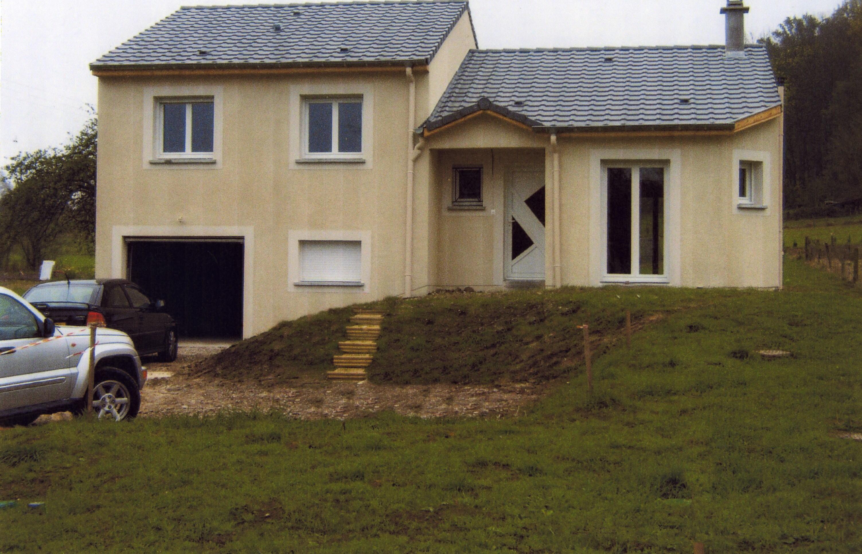 Modeles maisons demi niveau for Maison demi niveau plan