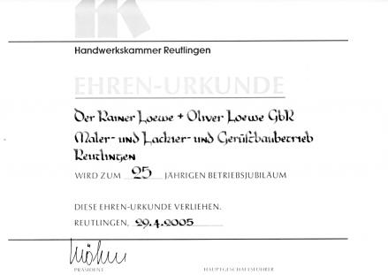 maler loewe in reutlingen seit ber 25 jahre. Black Bedroom Furniture Sets. Home Design Ideas