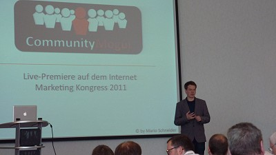 mario schneider beim internet marketing kongress 2011