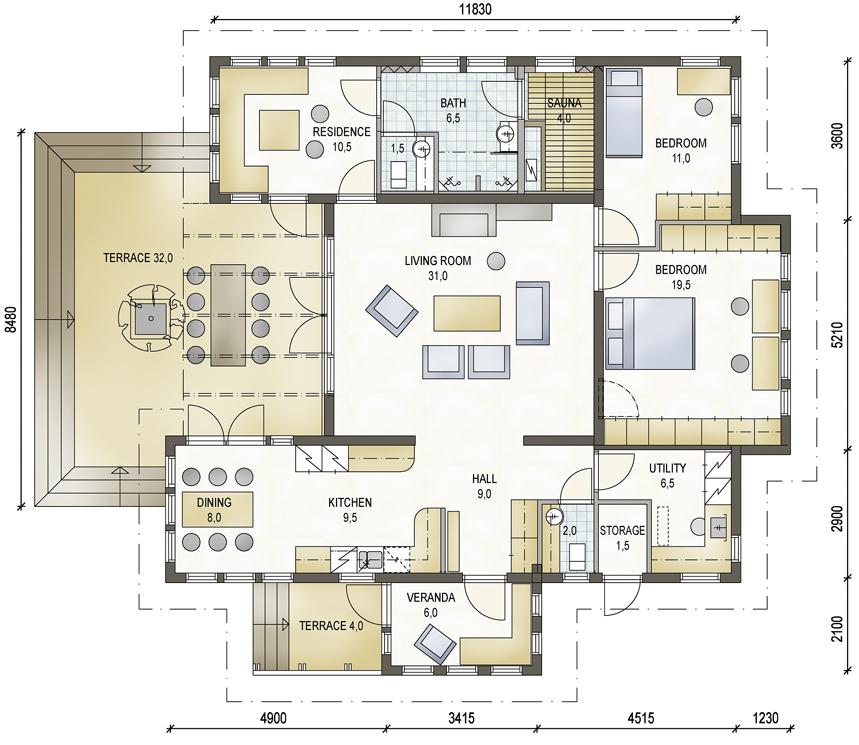 Wohnhaus Bauen erich ott planung für natürliches ökologisches bauen blockhäuser