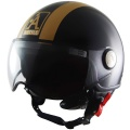 Casque Jet Astyle AStyle Noir Or