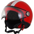 Casque Jet Astyle AStyle Rouge