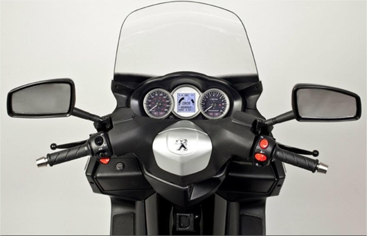 guidon satelis 2012 scoot Peugeot