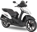 Peugeot Scooters - GEOPOLIS 125 RS