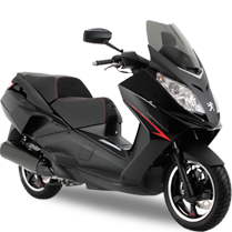 Peugeot Scooters - SATELIS 125 BLACKSAT