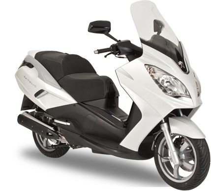 Peugeot Scooters - SATELIS 125 Executive Blanc nacré