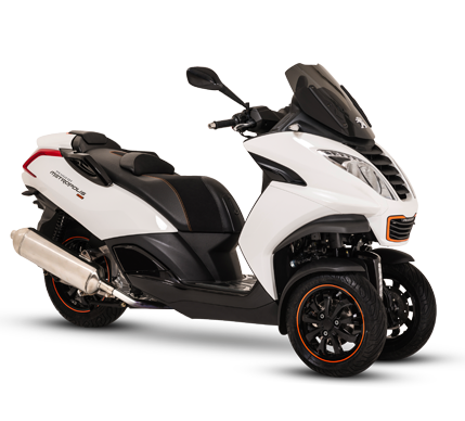 Scooter 3 Roues Peugeot METROPOLIS 400 RS BLANC