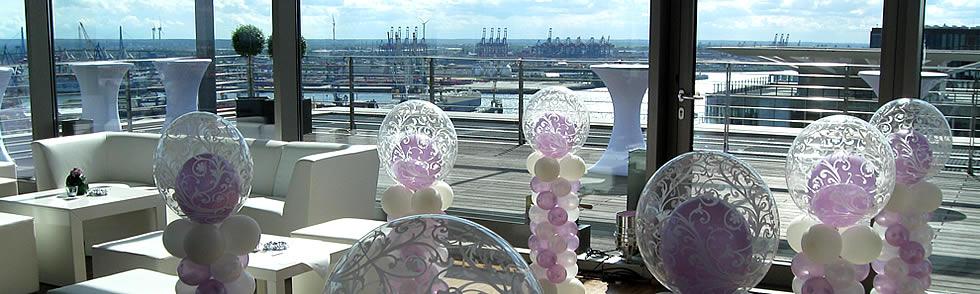 Partydeko plambeck deko und luftballonwelt - Luftballon deko ...