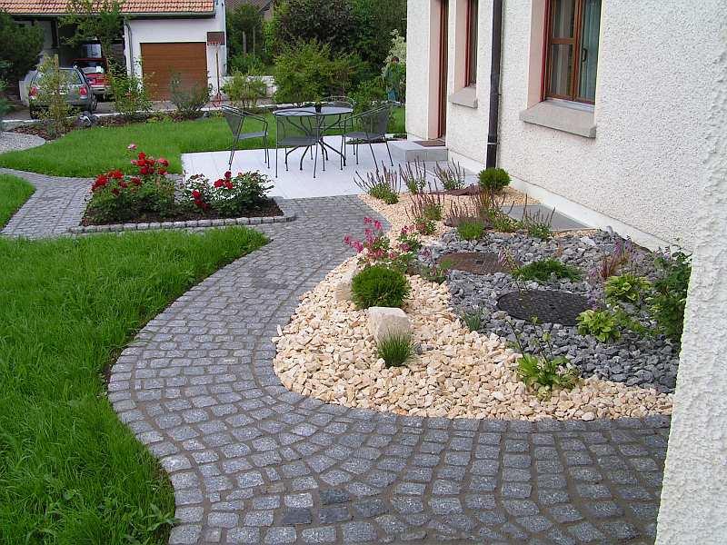 mavi s gartenwelt kiesgarten richtig verlegen. Black Bedroom Furniture Sets. Home Design Ideas