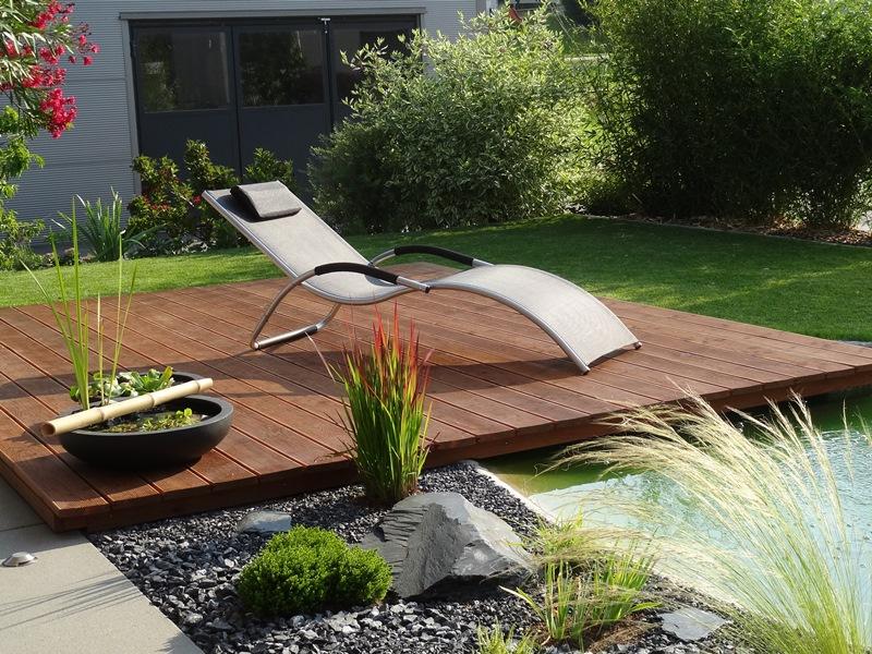 sitzplatz im garten aus holz – flipnation – sirube, Gartenarbeit ideen