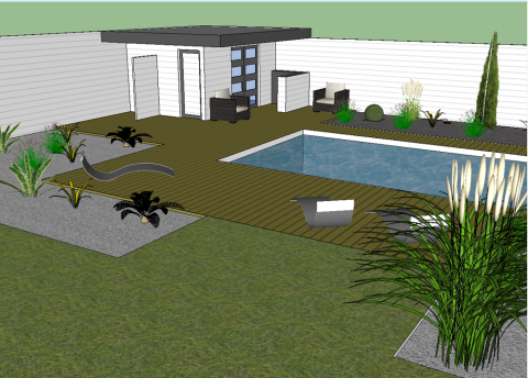 conception pool house sur mesure