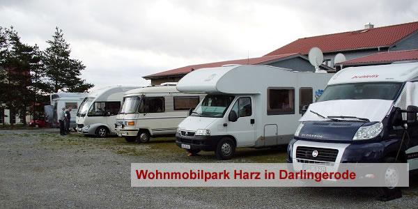 wohnmobilpark harzblick wohnmobilstellplatz f r sp lbecken f r wohnmobil. Black Bedroom Furniture Sets. Home Design Ideas