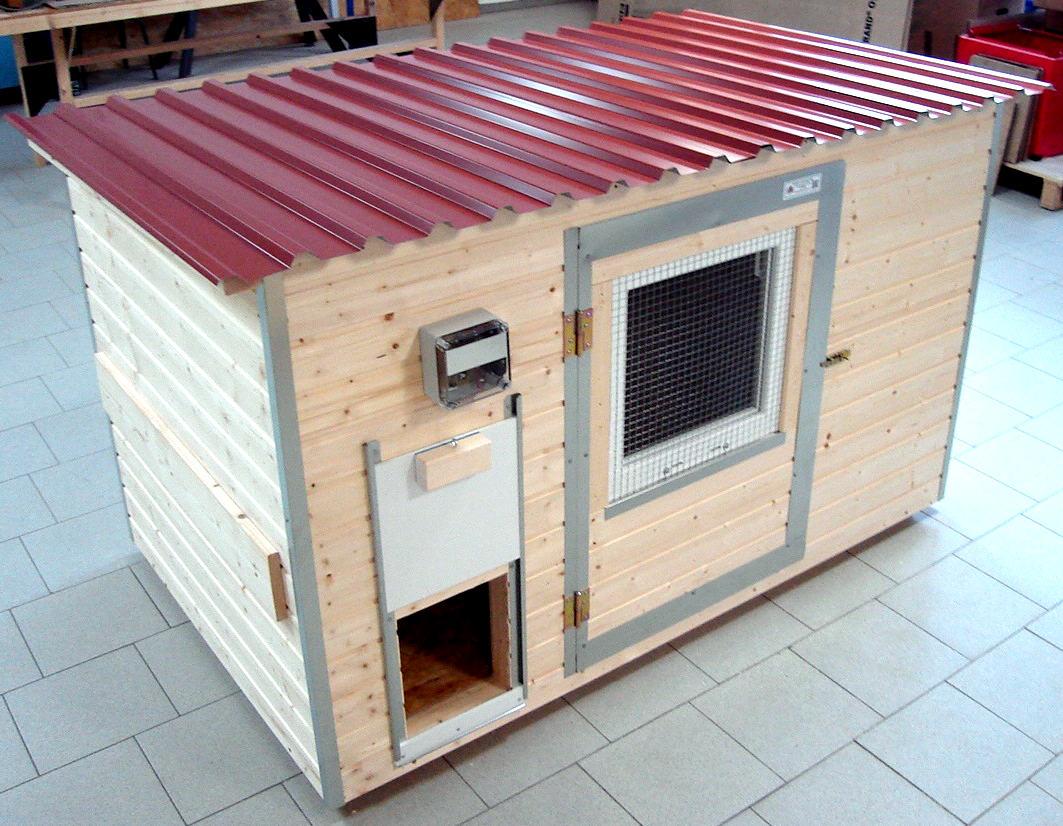 h hnerstall f r 4 6 h hner. Black Bedroom Furniture Sets. Home Design Ideas